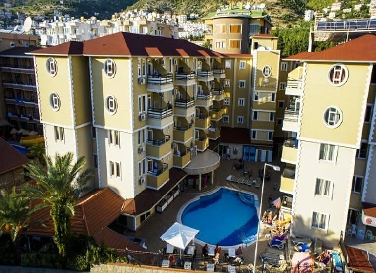Kleopatra Ada Beach Hotel, Alanya