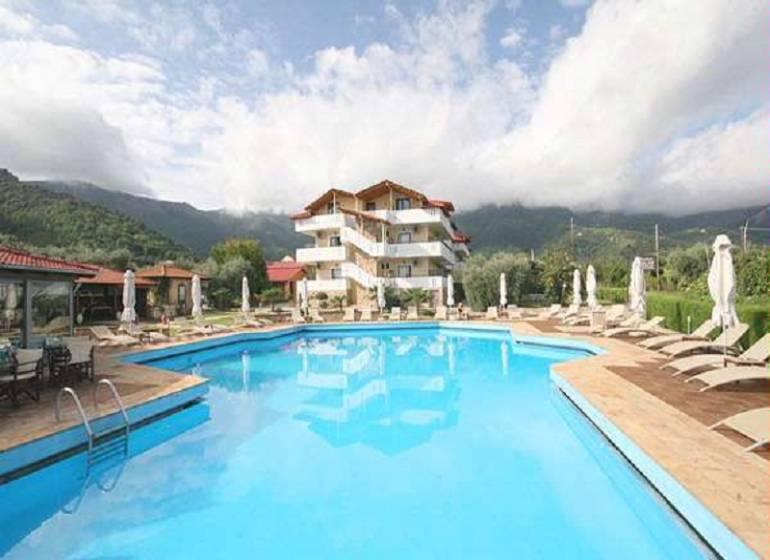 Hotel Korina,Grecia / Thassos / Skala Potamia