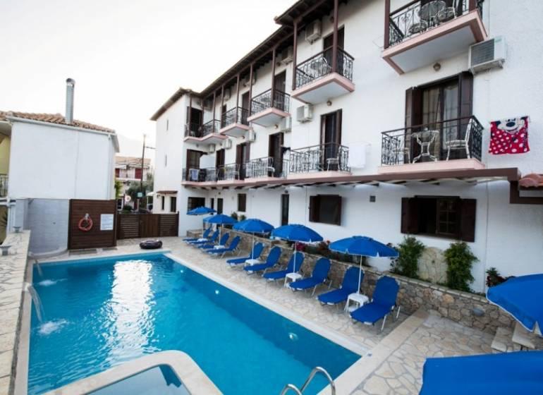 Nostos Hotel - Lefkada, Perigiali
